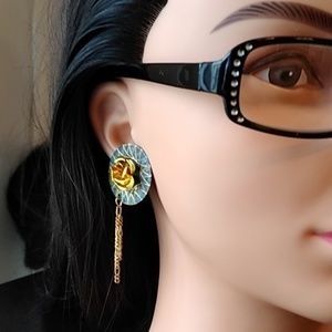 Jewelry - Lined with Gold Earrings